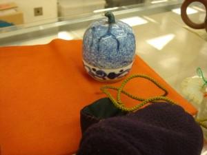 川越市にて瓜の香合をお売りいただきました