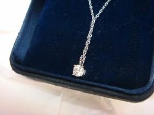 渋谷区にてティファニーのダイヤモンドネックレスをお売りいただきました
