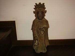 藤沢市にて仏像をお売りいただきました