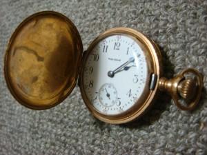 東京都港区にて懐中時計をお売りいただきました