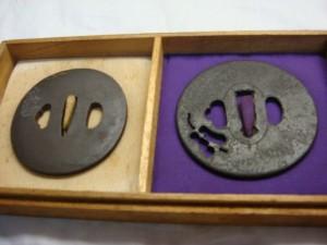 茨城県水戸市にて刀の鍔をお売りいただきました