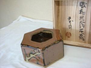 東京都世田谷区にて浜田庄司の灰皿をお売りいただきました