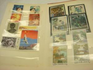 東京都目黒区にて中国切手をお売りいただきました