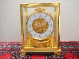 東京都港区にてジャガールクルト・アトモス置時計の買取でした