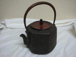埼玉県川越市にて鉄瓶をお売りいただきました