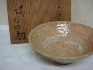 東京都千代田区にて萩茶碗(三輪休雪)をお売りいただきました