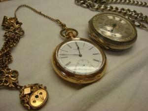 東京都武蔵村山市にて懐中時計買取でした