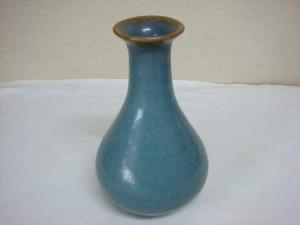 東京都文京区にて鈞窯花瓶買取でした